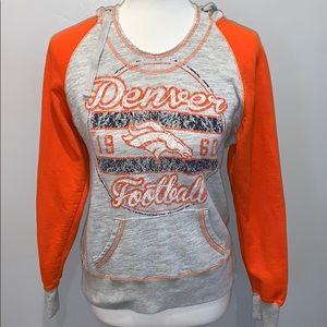 Majestic Denver Broncos Hoodie Sweatshirt